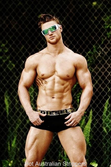 hot australian male strippers